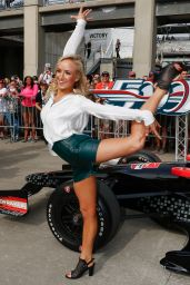 Nastia Liukin - Indy 500 in Indianapolis, May 2015