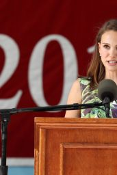 Natalie Portman - Class Day Exercises at Harvard Univeristy in Cambridge, May 2015