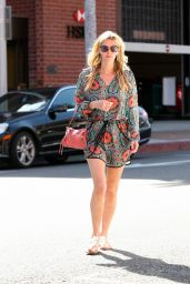 Nicky Hilton at a Nail Salon in Beverly Hills, May 2015