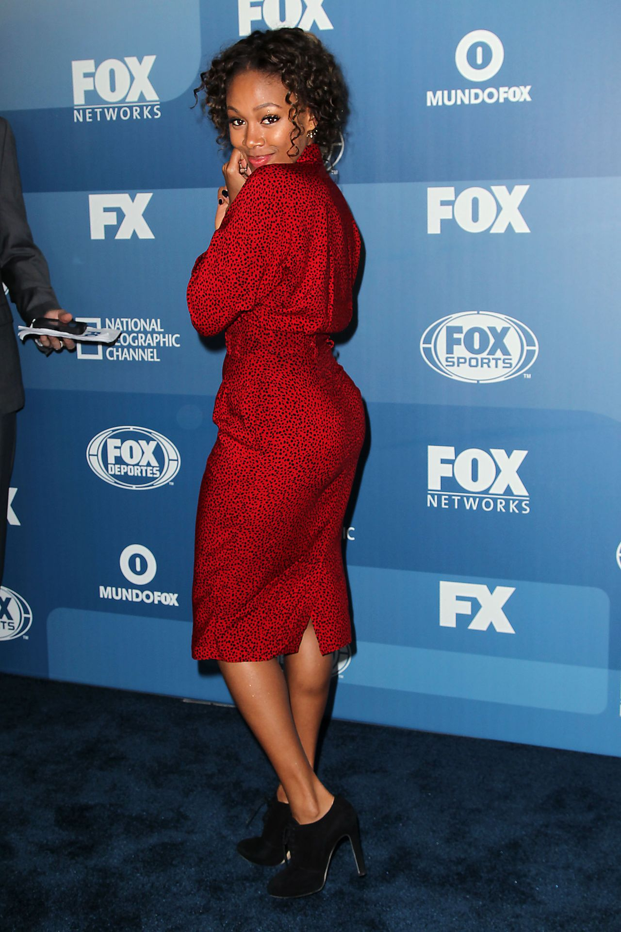 Nicole Beharie – Fox Network 2015 Programming Upfront in ...