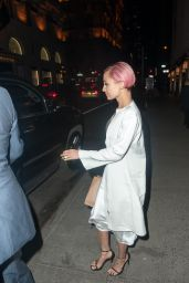 Nicole Richie Night Out Style - Goes for Dinner at Polo Bar in New York, April 2015