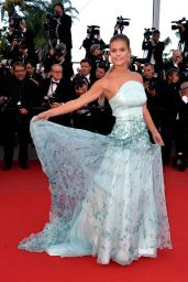 Nina Agdal - Inside Out Premiere - 2015 Cannes Film Festival
