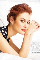 Olga Kurylenko – Glamour Magazine (Spain) May 2015 Issue