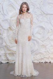 Olga Vorosilova - Naeem Khan Bridal Fall 2015