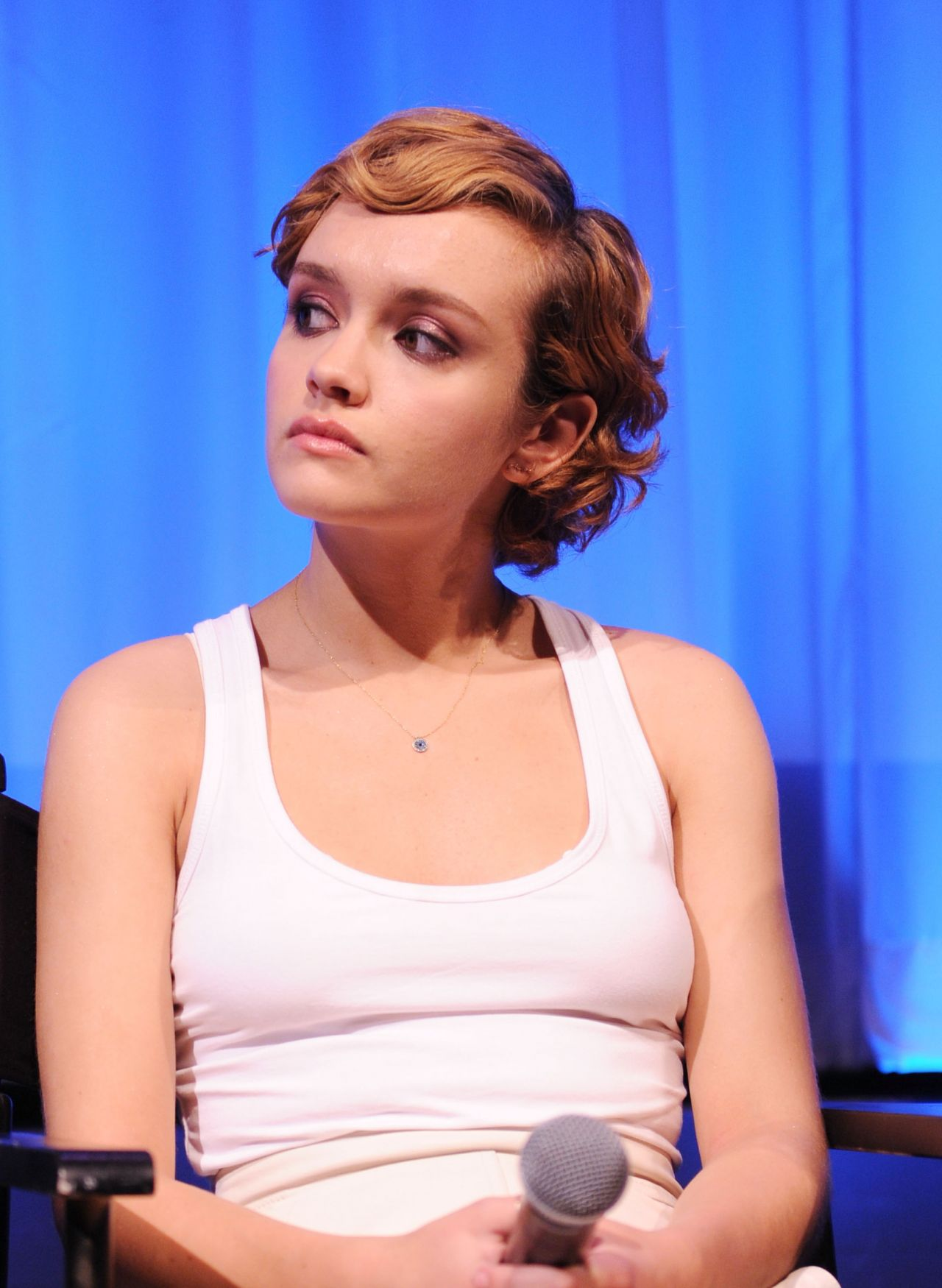 Olivia Cooke - Official Academy Screening Of Me And Earl -7710