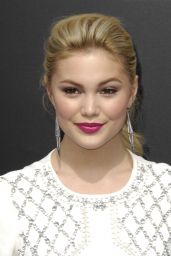 Olivia Holt – Tomorrowland Premiere in Anaheim