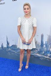 Olivia Holt – Tomorrowland Premiere in Anaheim