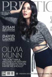 Olivia Munn - Prestige Magazine (Hong Kong) May 2015 Cover and Photos