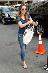Olivia Wilde in Jeans - Out in New York City, May 2015