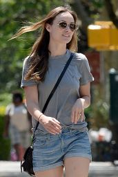 Olivia Wilde - Out in Brooklyn, New York City, May 2015