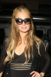 Paris Hilton - Arriving at Her Hotel in London, May 2015