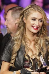 Paris Hilton at the Mayweather VS Pacquiao in Las Vegas