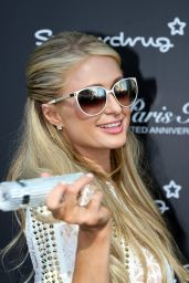 Paris Hilton - Photocall to launch Her Anniversary Fragrance at Superdrug, May 2015