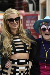 Paris Hilton - Taking in the Sights on Mathew Street in Liverpool, May 2015
