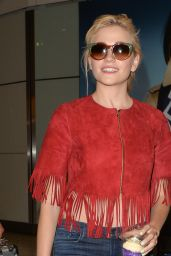 Pixie Lott at London Heathrow Airport, May 2015