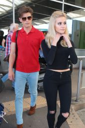 Pixie Lott at the Airport in Nice, France May 2015