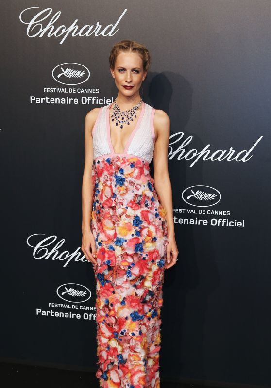 Poppy Delevingne – Soiree Chopard 'Gold Party' – 2015 Cannes Film Festival