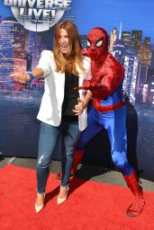 Poppy Montgomery - Marvel Universe LIVE! Celebrity Premiere in Inglewood
