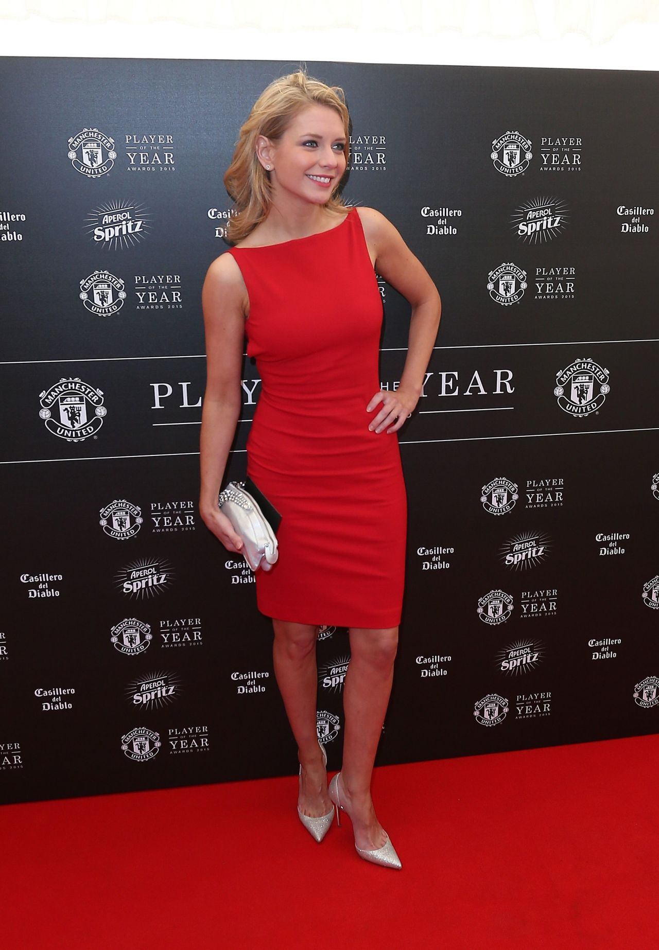 Rachel Riley 2015 Manchester United Player Of The Year