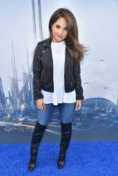 Rebbeca Marie Gomez - Tomorrowland Premiere in Anaheim
