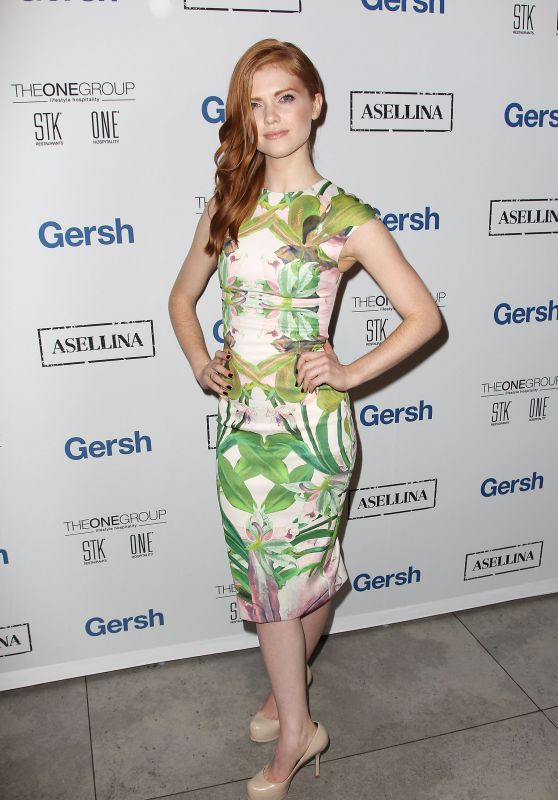 Rebecca Rittenhouse – 2015 Gersh Upfronts Party at Asellina at the Gansevoort in New York City