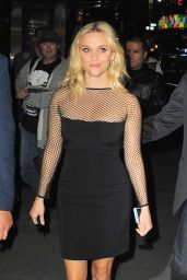 Reese Witherspoon at Saturday Night Live in New York City, May 2015