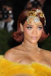 Rihanna – Costume Institute Benefit Gala in New York City, May 2015