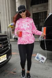 Rihanna - Out in New York City, May 2015