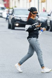Rihanna Street Style - Out in New York City, May 2015