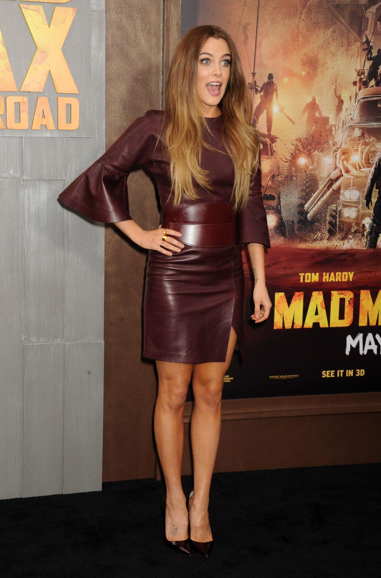 Riley Keough Mad Max Fury Road Premiere In Los Angeles