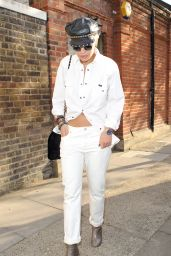 Rita Ora - Leaving a Recording Studio in London, May 2015
