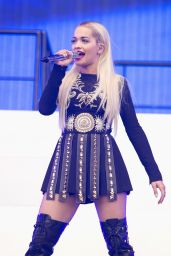 Rita Ora Performs at BBC Radio 1
