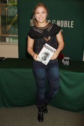 Ronda Rousey - Book Signing at Barnes & Noble in New York, May 2015