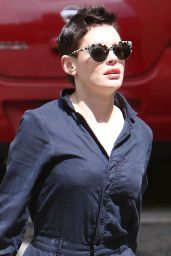 Rose McGowan - Out in Los Angeles, April 2015