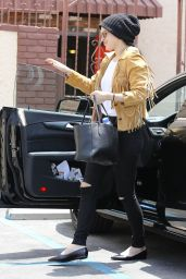 Rumer Willis - Arrives at the DWTS Rehearsal Studio in Hollywood, May 2015