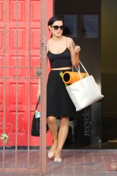 Rumer Willis - Leaving the Rehearsal Studios for Dancing With The Stars in Hollywood, April 2015