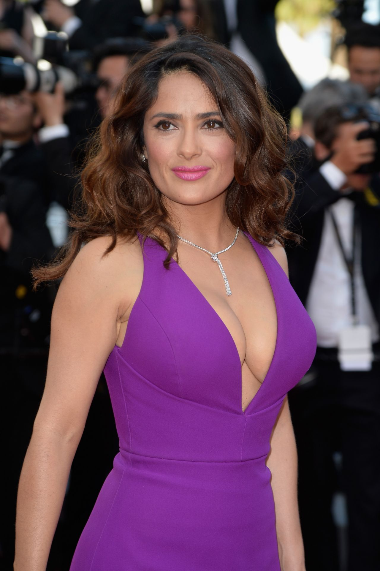Salma Hayek – Carol Screening at 2015 Cannes Film Festival