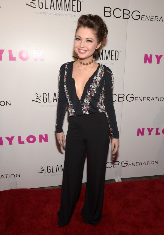 Sammi Hanratty – NYLON Young Hollywood Party in Hollywood, May 2015