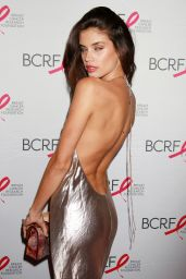 Sara Sampaio - The Breast Cancer Research Foundation 2015 Pink Carpet Party at The Waldorf Astoria in New York City