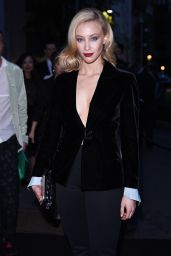 Sarah Gadon - Giorgio Armani 40th Anniversary Boutique Cocktail Reception in Milan