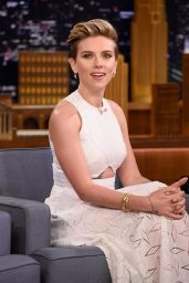 Scarlett Johansson - The Tonight Show in New York City, April 2015