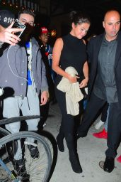 Selena Gomez at Gemma Restaurant in New York City, May 2015