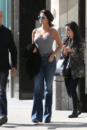 Selena Gomez in Jeans - Out in NYC, May 2015