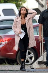 Selena Gomez on the Set of