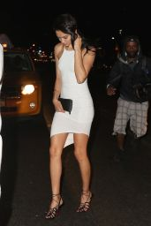 Shanina Shaik Night Out Style - Leaving Up & Down Nightclub in New York City, May 2015
