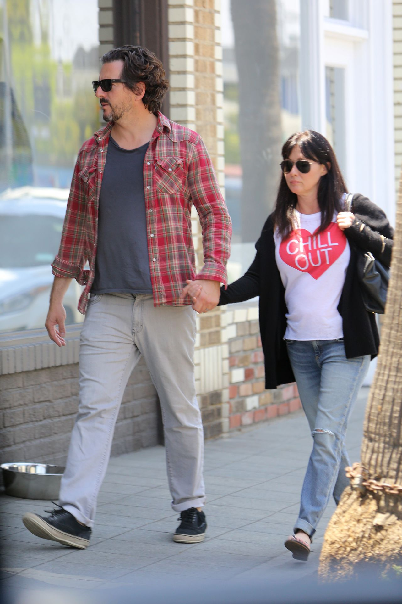 Shannen Doherty Out In Venice Beach May 2015