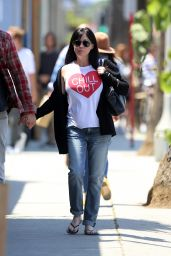 Shannen Doherty - Out in Venice Beach, May 2015