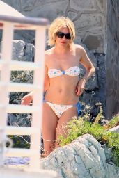 Sienna Miller in a Bikini at Hotel Du Cap-Eden-Roc Pool in France - May 2015