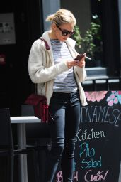 Sienna Miller Street Style - Out in London, May 2015