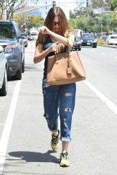 Sofia Vergara in Jeans - Out in West Hollywood, April 2015